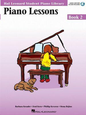Piano Lessons Book 2