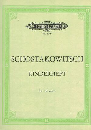 SCHOSTAKOWITSCH KINDERHEFT