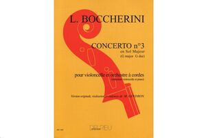 Concerto n°3 en Sol maj. G480 n°7