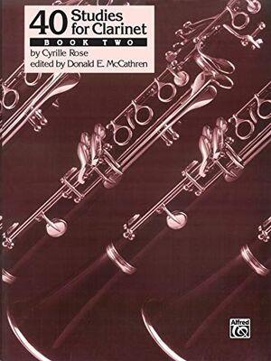 40 Studies for Clarinet, Book 2 Clarinet