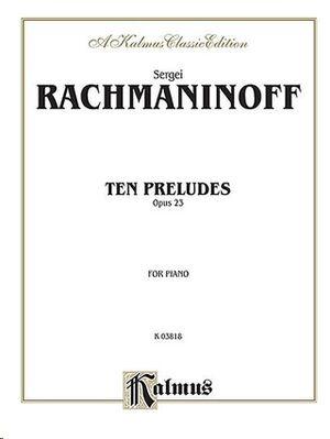 Ten Preludes, Op. 23 Piano
