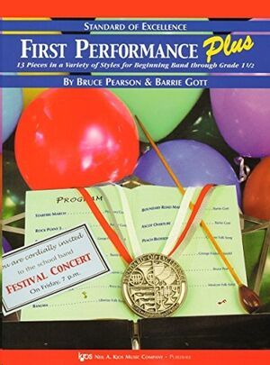 Tuba Bc (Bbb-Eb) Pearson/Gott Kjos Music W53bs. First Performance Plus (13 Pieces Grado 1 1/2) - Sta