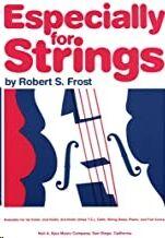 Violin (3º) Frost, Robert Kjos Music 73vn3. Especially For Strings  (Viola T.c.)
