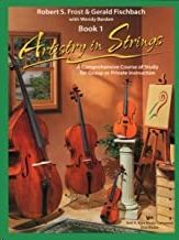 Violin/Piano Frost/Fischbach Kjos Music 100pa. Artistry In Strings (Book 1) Piano Accomp.
