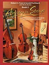 Violin + Cd(2) Frost/Fischbach Kjos 101vncd. Artistry In Strings (Book 2)