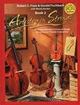 101SBCD.Contrabajo + Cd(2) Artistry In Strings (Book 2) Frost/Fischbach Kjos