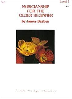 Piano Bastien Kjos Music Wp34 Musicianship For Older Beginner  (9780849750311)