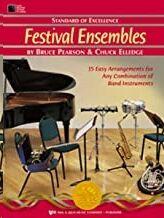 Saxofon Alto/Baritono Pearson/Elledge Kjos Music W27xe. Festival Ensembles (Standard Of Excellence)