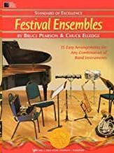 Percusion Bateria/Timpani/Auxil. Pearson/Elledge Kjos Music W27pr. Festival Ensembles (Standard Of E