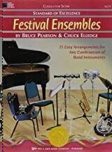 Orquesta Pearson/Elledge Kjos Music W27f. Festival Ensembles (Partitura Director) (Standard Of Excel
