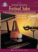 Trompa + Cd Pearson/Elledge Kjos Music W28hf. Festival Solos (Standard Of Excellence)