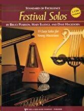 Bombardino Baritono + Cd Pearson/Elledge Kjos Music W28bc. Festival Solos (Standard Of Excellence)