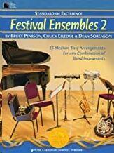 Oboe Pearson/Elledge/Sorenson Kjos Music W29ob. Festival Ensembles 2 (Standard Of Excellence)