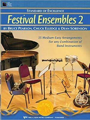 Clarinete Alto (Mib) Pearson/Elledge/Sorenson Kjos Music W29cle. Festival Ensembles 2 (Standard Of E