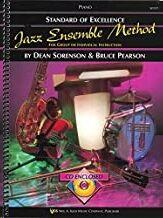 Piano + Cd Sorensen/Pearson Kjos Music W31p. Jazz Ensemble Method (Standard Of Excellence) (97808497