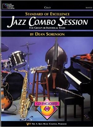 Violoncello + Cd Sorenson,D. Kjos Music W41co. Jazz Combo Session (Standard Of Excellence)