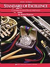 Clarinete Pearson,B. Kjos Music W21cl. Standard Of Excellence Vol.1