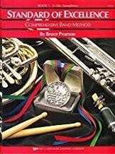 Saxo Alto Mib Pearson,B. Kjos Music W21xe. Standard Of Excellence Vol.1