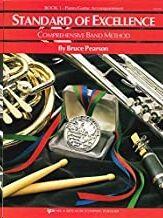 Piano/Guitarra Pearson Kjos Music W21pg. Standard Of Excellence  Vol.1 Acompañamientos