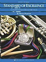 Clarinete Sib Pearson Kjos Music W22cl. Standard Of Excellence Vol.2