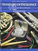 Clarinete Alto Mib Pearson Kjos Music W22cle. Standard Of Excellence Vol.2