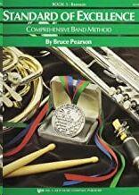 Fagot Pearson, B. Kjos Music W23bn. Standard Of Excellence Vol.3