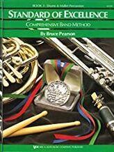 Percusion Pearson, B. Kjos Music W23pr. Standard Of Excellence Vol.3