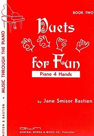 Piano 4 Manos Bastien Kjos Music Gp43. Duets For Fun Vol.2