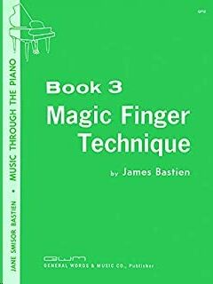 Piano Bastien Kjos Music Gp15. Magic Finger Technique Vol.3 (9780849760396)