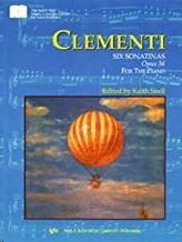 Piano Clementi Kjos Music Gp379. 6 Sonatinas Op.36