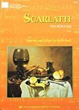 Piano Scarlatti Kjos Music Gp391. 10 Sonatas