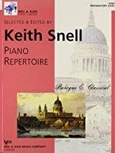 Piano Snell Kjos Gp600. Piano Repertoire: Baroque & Classical Preparatory Level- (9780849762086)