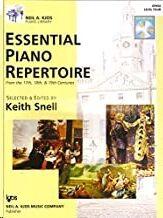 Piano +Cd Snell Kjos Gp454. Essential Piano Repertoire (Siglos 17th- 18th- 19th) - Nivel 4 -