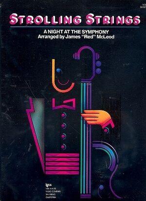 Violin J'red'mccleod Kjos Music Gl120vn. A Night At The Symphony (Strolling Strings)