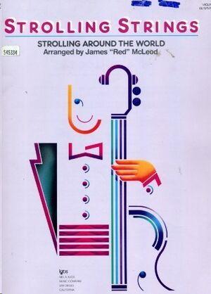Violin James 'Red' Mcleod Kjos Music Gl121vn. Strolling Strings  (Strolling Around The World)