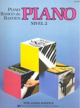 PIANO BASICO BASTIEN NIVEL 2 WP202E