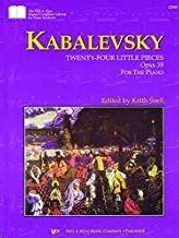 Piano Kabalevsky Kjos Music Gp387. 24 Pequeñas Piezas Op.39