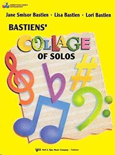 Piano Bastien Kjos Wp405. Collage Of Solos Book 5 (Intermediate)