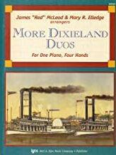 Piano 4 Manos Mcleod/Elledge Kjos Music Wp567. More Dixieland Duos