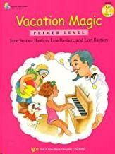 Piano + Cd Bastien Kjos Music Wp420. Vacation Magic  (Primer Levvel)