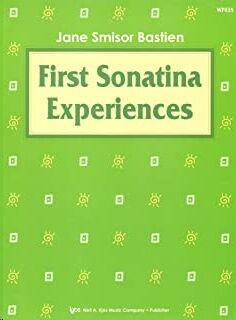 Piano Bastien Kjos Wp435. First Sonatina Experiences