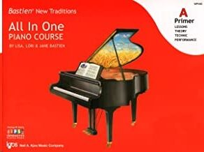 Piano Bastien Kjos Music Wp450. All In One Piano Course Vol.a Primer (Lessons-Theory-Technic-Perform