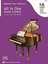 Piano Bastien Kjos Music Wp452. All In One Piano Course Vol.1a (Lessons-Theory-Technic-Performance)