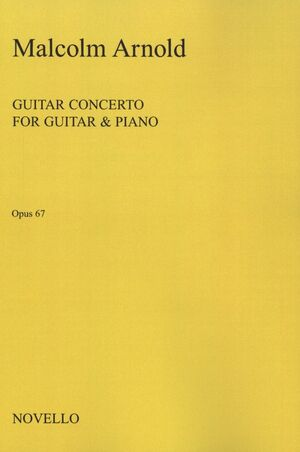 Concerto For Guitar & Chamber Orchestra op. 67 (Red. piano)