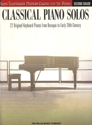 Classical Piano Solos - Second Grade