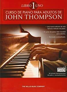 Curso De Piano Para Adultos Volumen 1