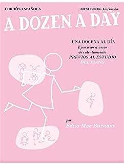 A Dozen A Day Mini book: Iniciación