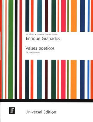 GRANADOS VALSES POETICOS 2Gtr