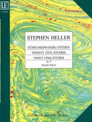 HELLER 25 ETUDES OP47 S.Pft op. 47