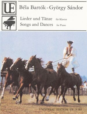 BARTOK-SANDOR SONGS & DANCES S.Pft